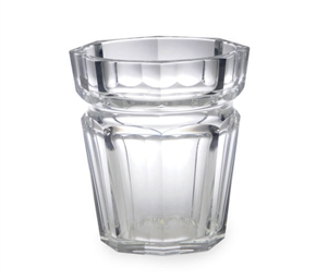 A FRENCH GLASS ICE BUCKET,