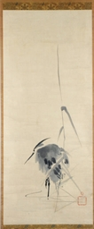 TWO JAPANESE HANGING SCROLL PA