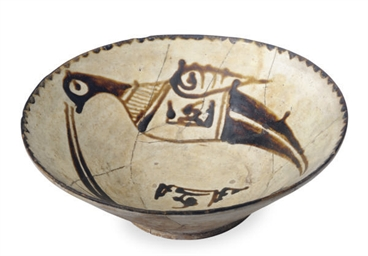 A NISHAPUR CONICAL POTTERY BOW