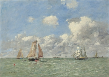 Barques de pêche au large