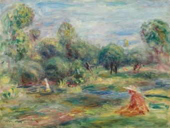 Paysage à Cagnes