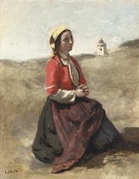 La bretonne en prière