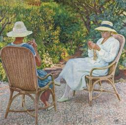 Maria et Elisabeth van Rysselb