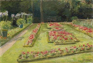 Die Blumenterrasse im Wannseeg