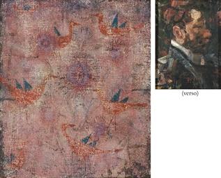 Blaugeflügelte Vögel (recto);