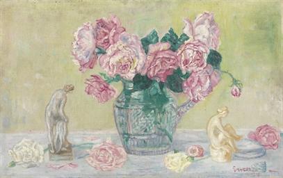 Roses et tanagras