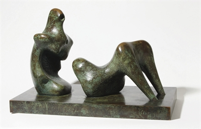 Two piece reclining figure: ar