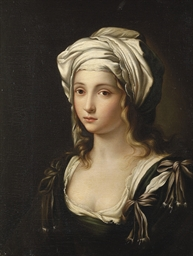 Portrait of a young lady as a