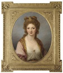 Portrait of Selina FitzHerbert