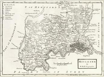 MOLL, Herman (d. 1732).  A New
