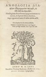 Florilegium diversorum epigram