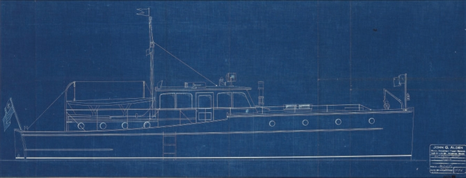 Profile of 45' Patrol Boat
