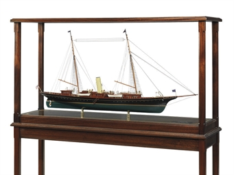 A Model Of The Steam Yacht Cor