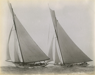 Four photographs of the 1887 A