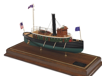 A model of the tugboat Hercu