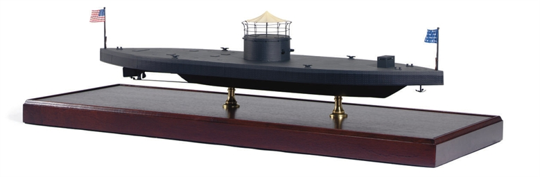 A model of the U.S.S. Monitor