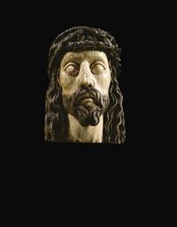 FRAGMENT DE TETE DE CHRIST