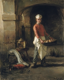 The kitchen boy