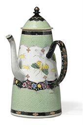 A VERY RARE 'PRONK' COFFEE-POT