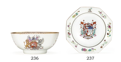 A FAMILLE ROSE ARMORIAL SOUP P