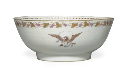 A 'RHODE ISLAND' PUNCH BOWL