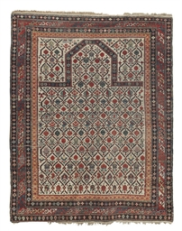 An antique Shirvan prayer rug