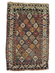A Kuba rug & Senneh kilim