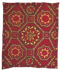A SUSANI DOWRY BED COVER