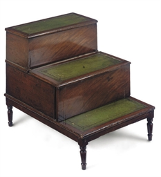 A SET OF REGENCY MAHOGANY BED