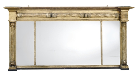A REGENCY GILTWOOD AND EBONSIE