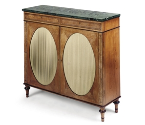 A REGENCY SATINWOOD AND EBONY-