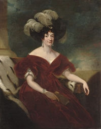 Portrait of a lady, three-quar