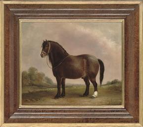 'Bowler' in a landscape
