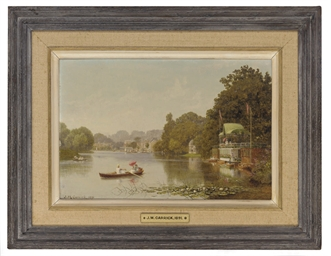 Boating, Hampton on Thames