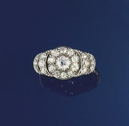 A Victorian diamond cluster ri