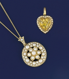 A group of Edwardian gold and