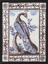 A DUTCH DELFT TILE PICTURE OF