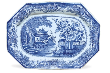 AN ENGLISH DELFT CHINOISERIE O