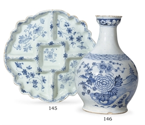 AN ENGLISH DELFT SWEETMEAT TRA