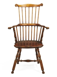 A Windsor Comb-Back Armchair