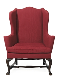 A Queen Anne Maple Easy Chair