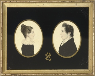 Pair of Portrait of a Lady and