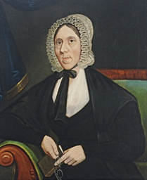 Portrait of a Lady with Glasse