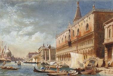 Bustling activity, Venice