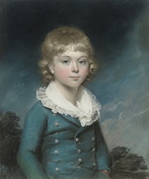 Portrait of a boy, half length