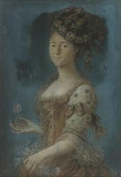 Portrait of a lady, half lengt