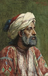 An Arab in traditional costume