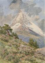 The Matterhorn from Riffel Alp