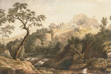 An arcadian palace