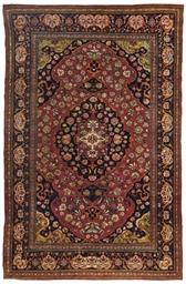 A fine Teheran rug